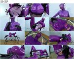 Violet Latex Lucy