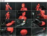 Breath Play in Rubber Bag