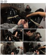 Anna Rose Tied and Teased and Penetrated in Latex