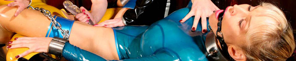 Rubber and Latex Bondage Videos
