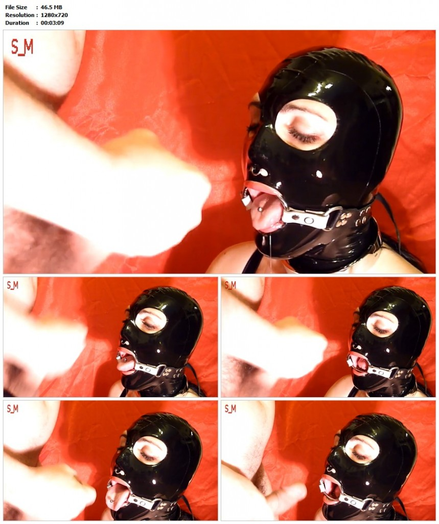Gag Blowjob Video 108